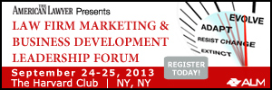 Law Firm Marketing & Business Development Leadership Forum